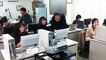 豆田町の商店街のIT教室を当教室で開催いたしました。