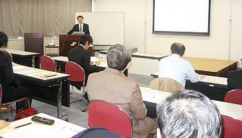 鹿児島の商工会議所で経営者のIT研修を担当いたしました。