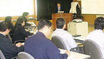 延岡市の工業団地でJ-SaaSの研修を担当いたしました。